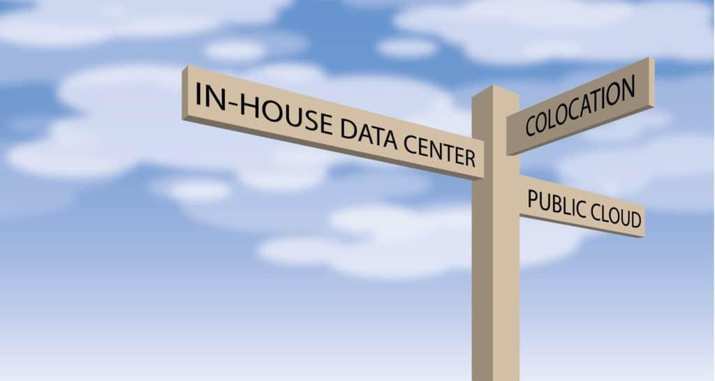 Colocation, Public Cloud or In-house Data Center